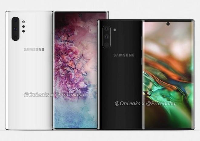 Galaxy Note 10 có thể ra mắt ngày 10/8 với 4 camera sau