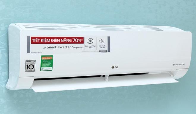 1LG Những máy lạnh bán chạy nhất với cái nắng nóng đỉnh điểm?