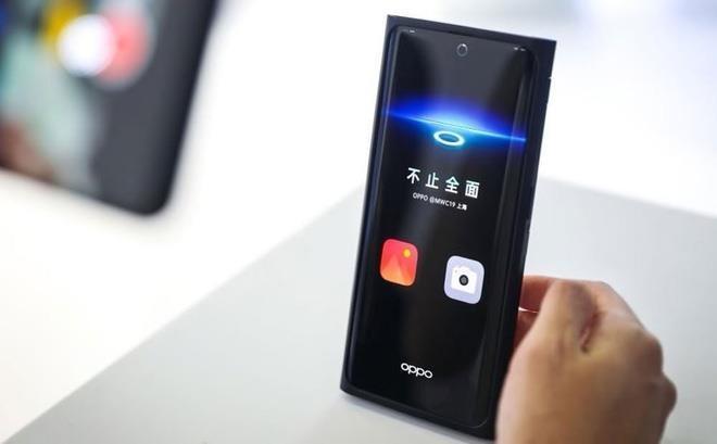 Video gioi thieu smartphone co camera duoi man hinh cua Oppo hinh anh