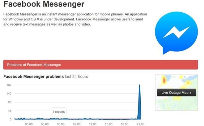 Messenger, Facebook, Instagram gap su co, nguoi dung VN buc xuc hinh anh 2