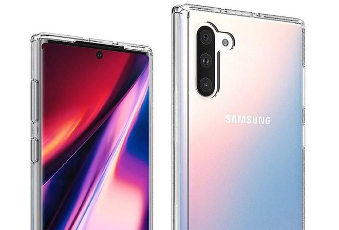 Xuat hien bo anh chi tiet cua Galaxy Note10 va Note10 Plus hinh anh 2