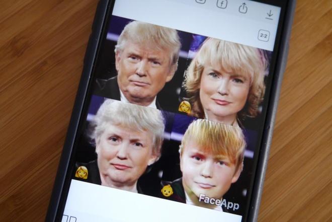 Ứng dụng FaceApp đang bị các nghị sĩ Đảng dân chủ Mỹ yêu cầu điều tra. Ảnh: TechCrunch.