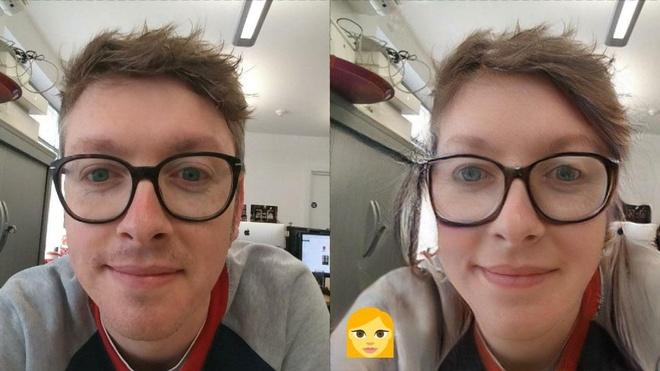 Ngoài độ tuổi, ứng dụng FaceApp còn có thể thay đổi giới tính. Ảnh: Techradar.