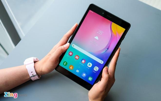 Trai nghiem Galaxy Tab A 8.0 anh 1