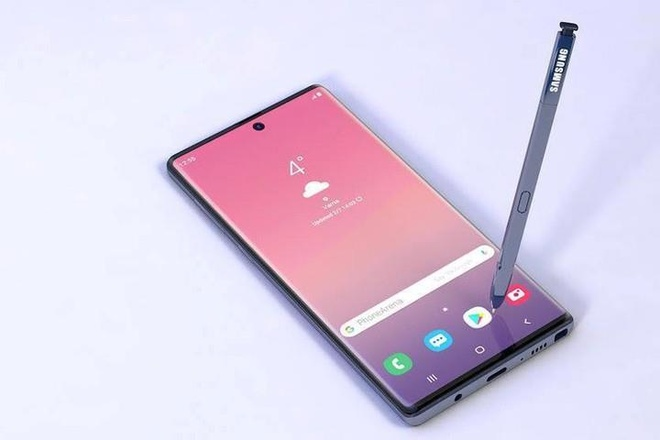 Lo them thong so Galaxy Note10 voi but S Pen duoc lam moi hinh anh 2