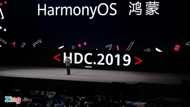 Huawei chinh thuc ra mat HarmonyOS, san sang bo Android hinh anh 1