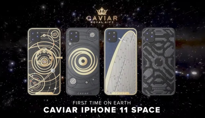 iPhone 11 phien ban Caviar Edition hinh anh
