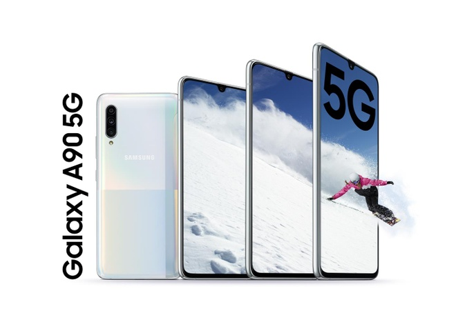 Galaxy A90 ra mat - smartphone dong A dau tien ho tro 5G hinh anh 1