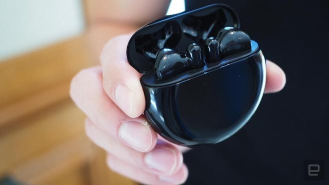 Huawei ra tai nghe giong AirPods, co chong on, gia re hinh anh 1