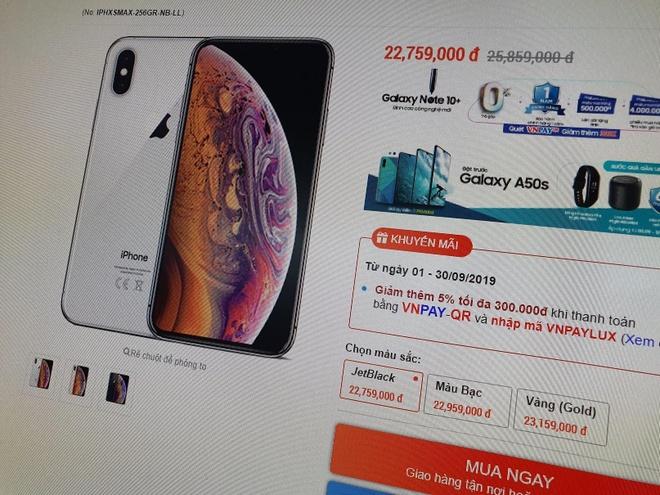 iPhone đồng loạt giảm giá ở VN, dọn đường cho iPhone 11