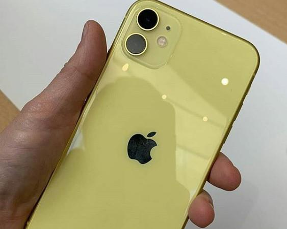 Anh thuc te iPhone 11 - gia tu 699 USD, nhieu mau, camera nang cap hinh anh 7