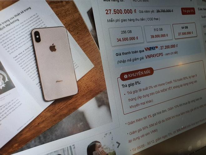 iPhone XS sắp giảm giá tại Việt Nam