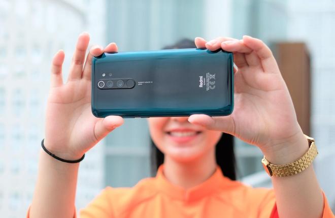 Danh gia nhanh Redmi Note 8 Pro - cai tien camera, vien man hinh day hinh anh