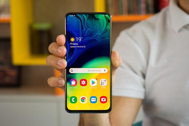 Smartphone tầm trung của Samsung sẽ có RAM 12 GB