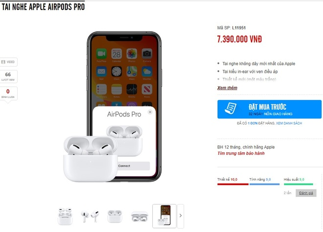 gia ban AirPods Pro anh 2