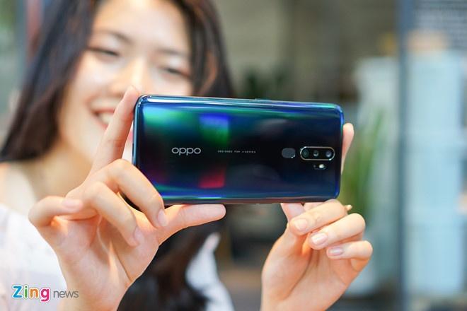 Oppo A9 2020 đang được bán với giá 6,7 triệu đồng. Máy có 4 camera sau với ống kính chính 48 MP, camera góc siêu rộng 8 MP cùng 2 camera phụ 2 MP. Ở điều kiện đầy đủ sáng, hình ảnh chụp từ Oppo A9 2020 thường có màu sắc rực rỡ hơn so với thực tế.
