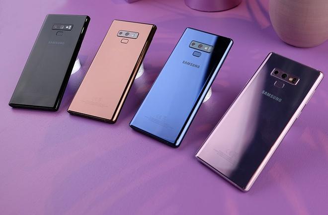 Galaxy Note9 giam gia tai Viet Nam anh 2