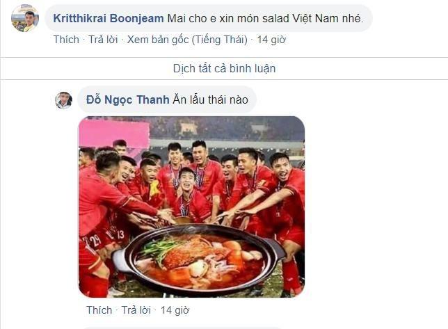 Fanpage bong da Thai Lan cam cua cu dan mang Viet Nam hinh anh 2