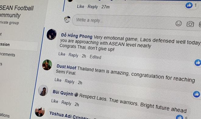 Fan Viet chuc mung Thai Lan sau khi danh bai Lao hinh anh 1