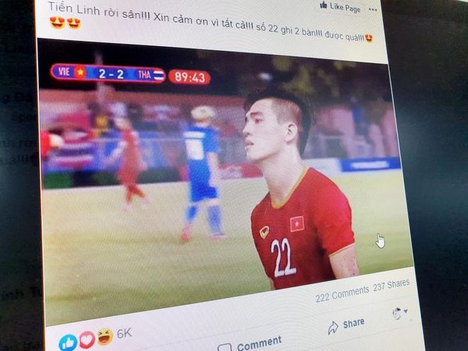 Fan Viet: 'Tien Linh tuyet voi, chan vang, nhan cach vang' hinh anh 1