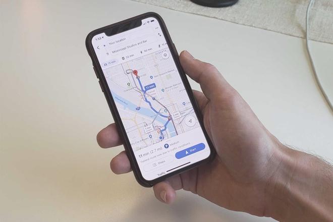 iPhone 11 Pro truy cap GPS ngay ca khi nguoi dung tat chia se vi tri hinh anh