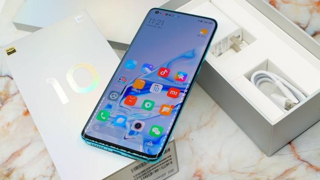 Xiaomi ra mat Mi 10 anh 2