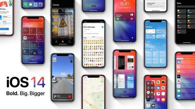 nhung mau iPhone duoc chay iOS 14 anh 1