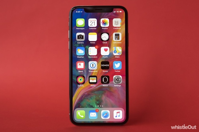 smartphone cung thoi voi iPhone X anh 1