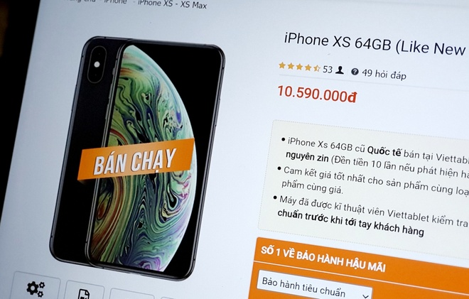 iPhone XS lien tuc giam gia anh 1