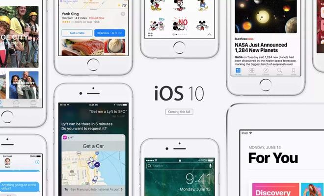 su tien hoa cua iOS anh 10