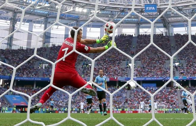 Griezmann giai thich ly do khong an mung ban thang vao luoi Uruguay hinh anh 2