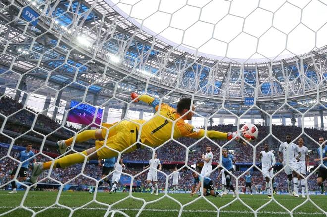 Griezmann giai thich ly do khong an mung ban thang vao luoi Uruguay hinh anh 3