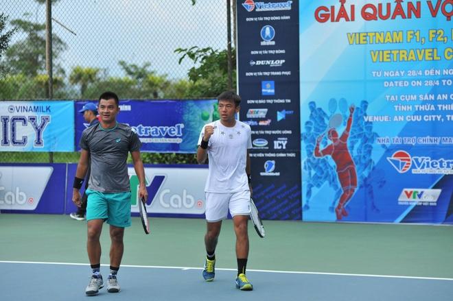 Doi nam Furure F1 Viet Nam 2018,  Tennis doi nam,  Ly Hoang Nam,  Quoc Khanh,  Tennis Viet Nam anh 1