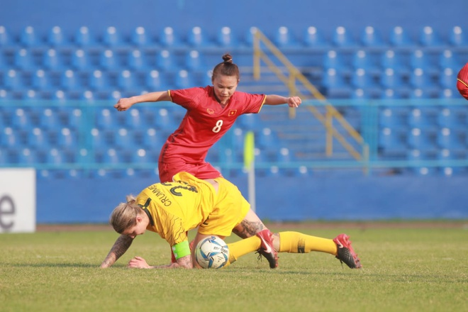 Doi tuyen nu Viet Nam thua U20 Australia o ban ket AFF Cup hinh anh 1