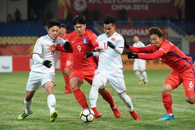 U23 Viet Nam co the gap Han Quoc ngay sau vong bang ASIAD 2018 hinh anh