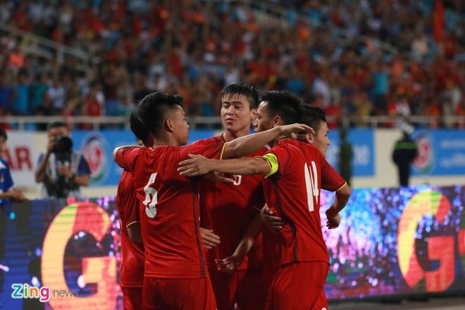 Olympic Viet Nam se vo dich neu thang Oman hinh anh 1