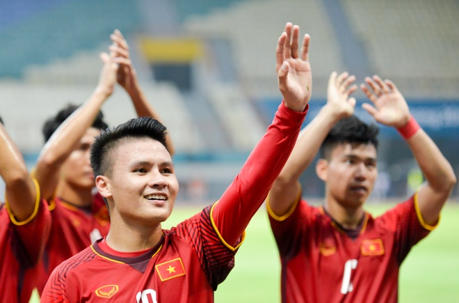 Ngay thi dau thu 2 tai ASIAD 2018: Cam hung tu Olympic Viet Nam hinh anh