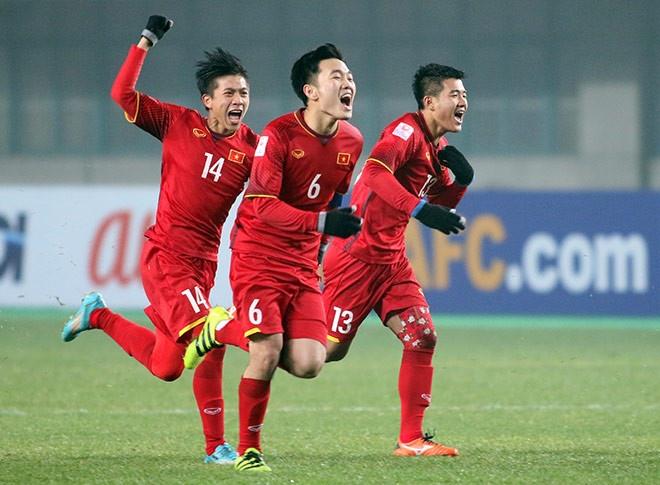 U23 Viet Nam la hat giong so 1 vong loai giai chau A 2020 hinh anh