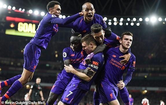 Arsenal 1-1 Liverpool: Tiec tan cong hap dan hinh anh 1