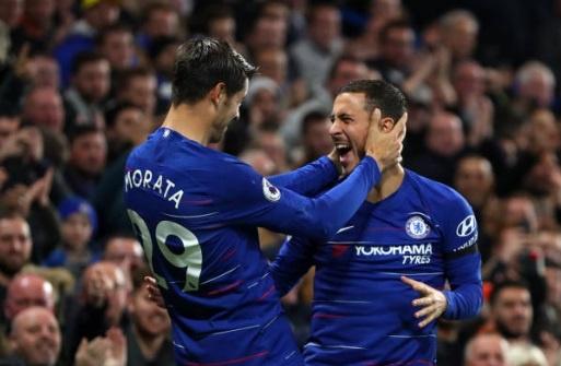Morata lap cu dup, Chelsea duy tri mach bat bai tai Premier League hinh anh