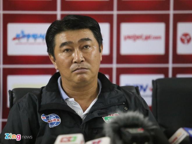 HLV Tran Minh Chien chia tay CLB Binh Duong hinh anh 1