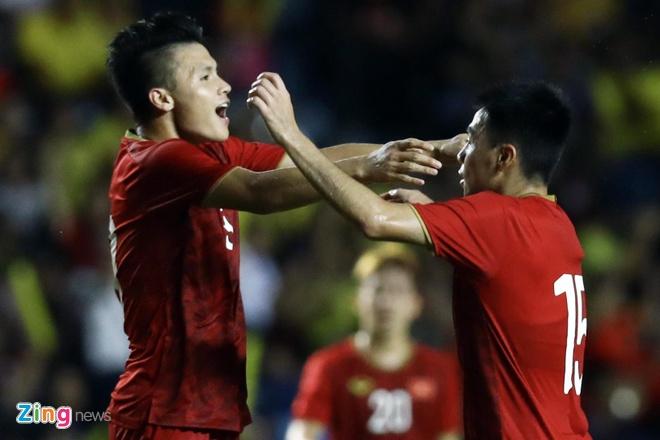Tuyen Viet Nam co the hon Thai Lan 19 bac tren bang xep hang FIFA hinh anh 1