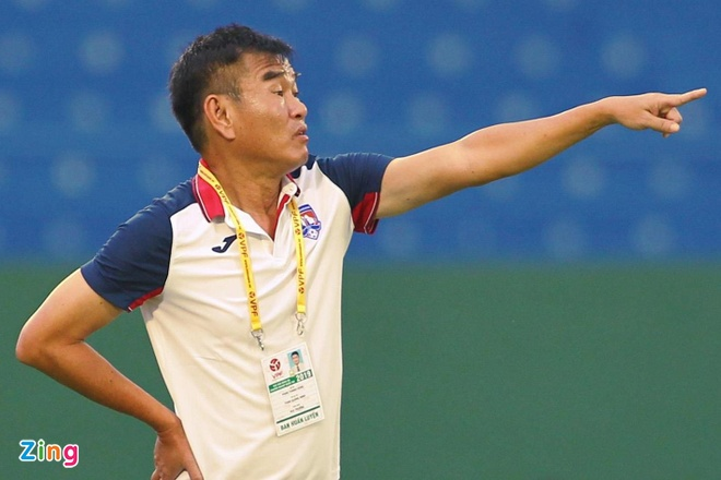 HLV Phan Thanh Hung khong hai long du doi Quang Ninh thang tran hinh anh 1