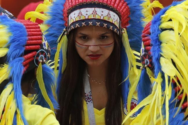Nu CDV Colombia tan cong fan Argentina tai Copa America 2019 hinh anh