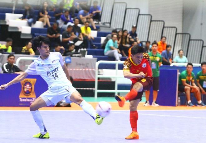 CLB Khanh Hoa thua doi bong Thai Lan 1-9 o chung ket AFF futsal cup hinh anh 1
