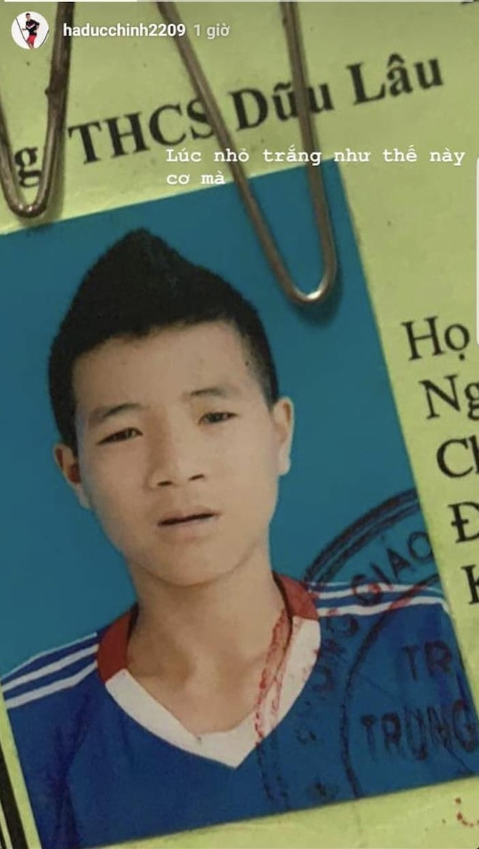Anh the cua Duc Chinh gay sot cong dong mang hinh anh 1