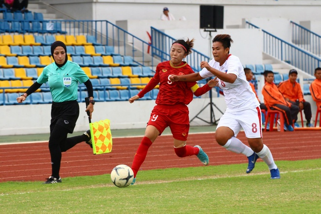 Highlighs: Tuyen nu Viet Nam 2-1 Philippines hinh anh