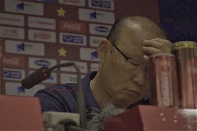 HLV Park Hang-seo thua nhan cang thang o tran thang Malaysia hinh anh