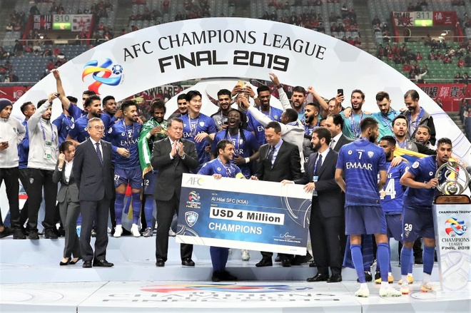 Dai dien Viet Nam nhan vinh du trao giai tai AFC Champions League hinh anh 1