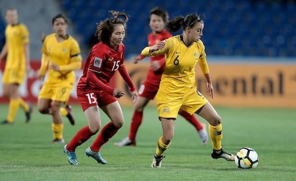 Tien ve Tuyet Dung: 'Australia la doi thu kho nhat toi tung gap' hinh anh 1 Nu_Viet_Nam_vs_Australia_2.jpg